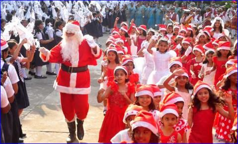 christianity came to india centuries before it entered the americas or western europe and as such christmas deserves to be seen as an ancient festival of